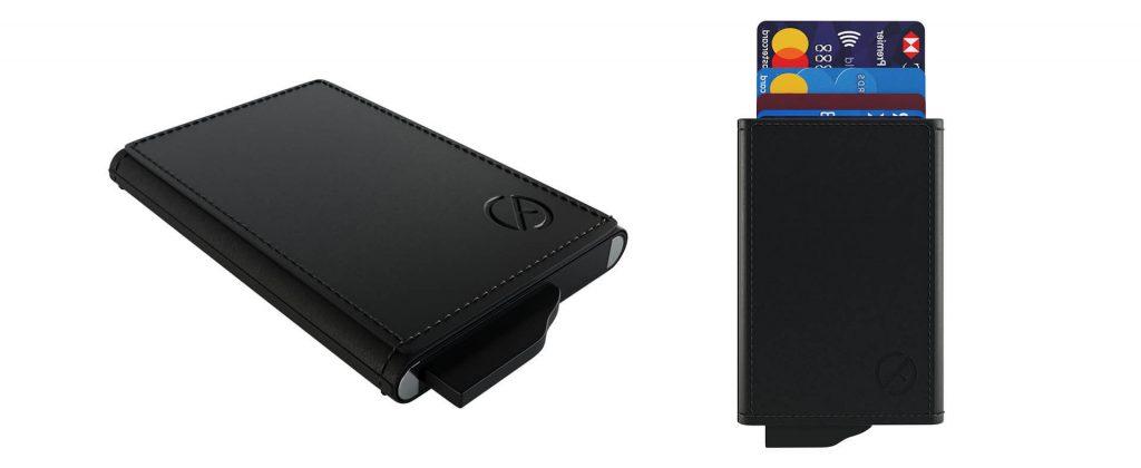 Custom credit card holder wallet with logo