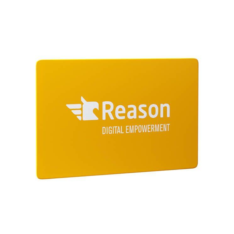 RFID blocking card with logo